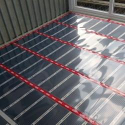 Тепла підлога у науково-виробничій фірмі Квазар Плюс.