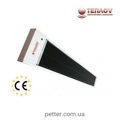 Інфрачервоний обігрівач ТеплоV BE600 Black Edition